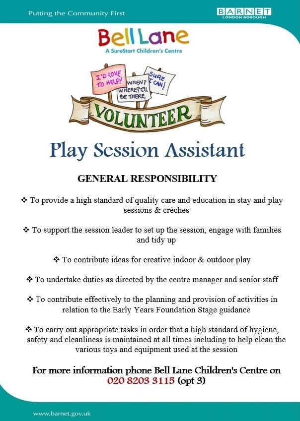 Play Session Volunteer v2